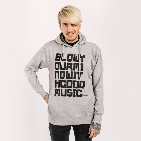 Audiolith - Blow Your Mind With Good Music Unisex Hoodie