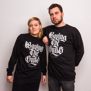 Waving the Guns - Kalligraphie Unisex Sweatshirt...