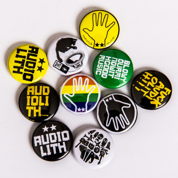 Audiolith - Button Paket (10 Stk.)