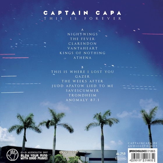 Captain Capa - This Is Forever LP 12 Vinyl