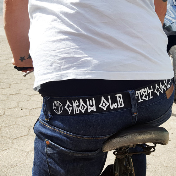 Audiolith - Grow Old Stay Cool Belt 123 cm