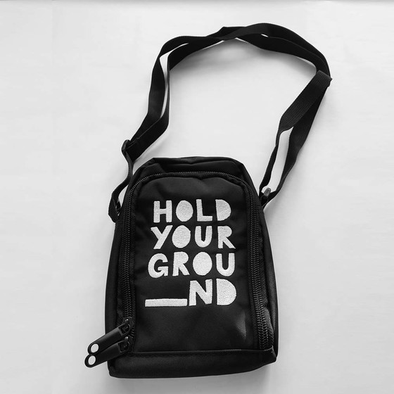Hold Your Ground - Hood Pusher Bag RFID abgeschirmt