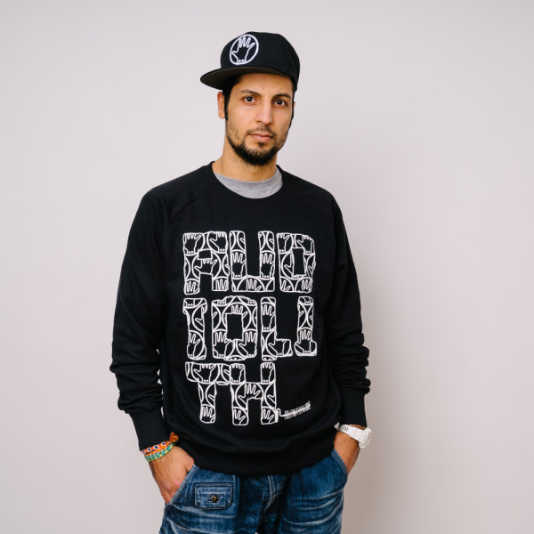 Audiolith - Blockrolle Rough Unisex Sweatshirt