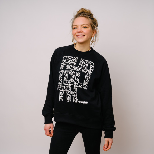 Audiolith - Blockrolle Rough tailliertes Sweatshirt