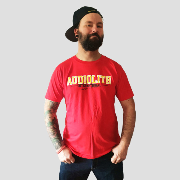 Audiolith - Solidarity red Unisex Shirt L