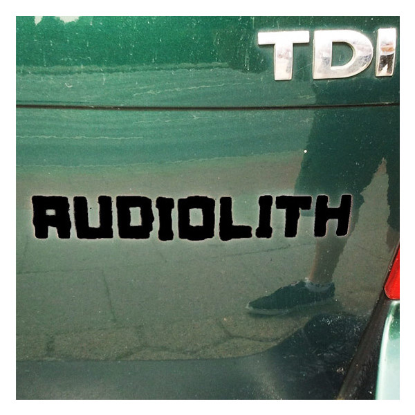 Audiolith - Blockrolle Sticker