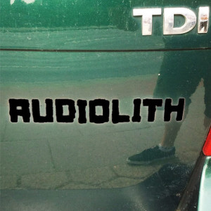 Audiolith - Blockrolle Sticker schwarz