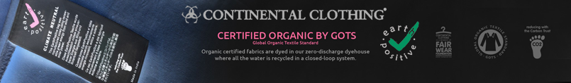 Continental Clothing Earth Positive Certificate
